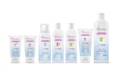 Kosmetikserie für Kinder Linum Baby, Kunde:DERMEDIC