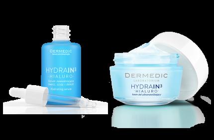 Produktenset Hydrain H3, Kunde:DERMEDIC