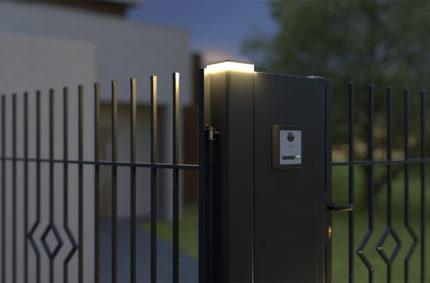 Signallampe Einfahrt, Kunde: POLARGOS