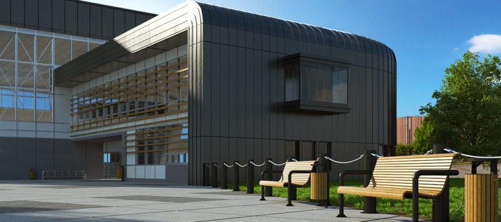 Architektonische Konzeption, Kunde: KINGSPAN